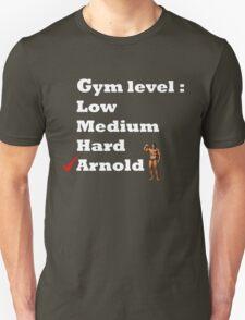 Gym level : Arnold T-Shirt