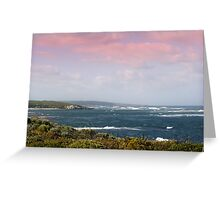 Just after sunrise at Prevelly Greeting Card