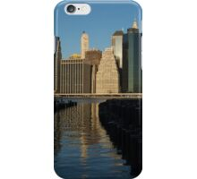 New York City Magic - Lower Manhattan Brilliant Reflections  iPhone Case/Skin