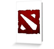 Ancients Red Greeting Card