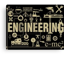 Engineering Canvas Print