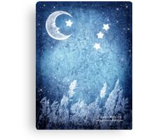 Lullaby Field Canvas Print