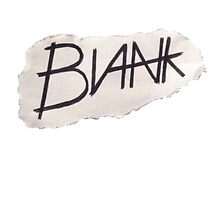BLANK- paper logo by BLANK-clothing