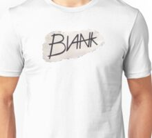 BLANK- paper logo Unisex T-Shirt
