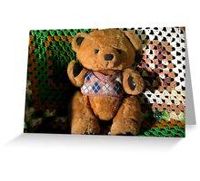 Terry Bear Greeting Card