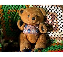 Terry Bear Photographic Print