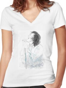 Harry Women's Fitted V-Neck T-Shirt