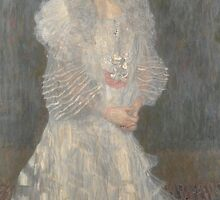 Gustav Klimt (1862 – 1918) Portrait of Hermine Gallia by Adam Asar