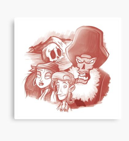 Monkey Island Canvas Print