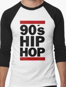 90's Hip Hop Men's Baseball ¾ T-Shirt