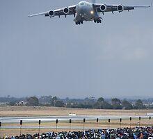 C-17 Flyby by Michael Eyssens