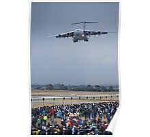 C-17 Flyby Poster