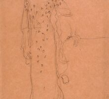 Gustav Klimt, Austrian, 1826-1918 Study for Portrait of Adele Bloch-Bauer I, 1903 by Adam Asar