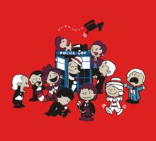 Doctor Who All Doctors comic Kids Clothes