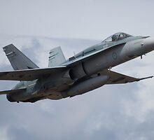 FA18 HORNET - RAAF by Michael Eyssens