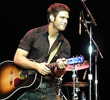 Dancing With The Stars.... Chuck Wicks  by Angela Lance