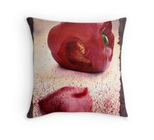 Eat Your Heart Out Throw Pillow