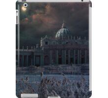 Apocalyptic scene to Saint Peter Square in Rome iPad Case/Skin