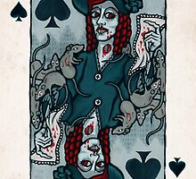 Ellen Hutter, Vampire Queen of Spades by pixbyr