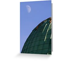 Curves Greeting Card