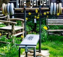 Garden workout Sticker