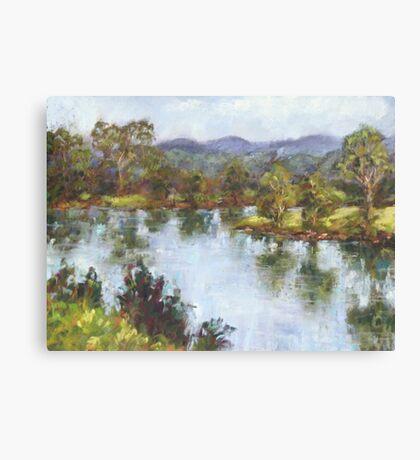 Hastings River, Wauchope Canvas Print