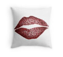 Read My Lips Throw Pillow