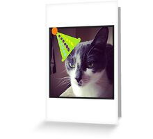 Vincent Price, Birthday party Greeting Card