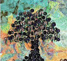 Strange Fruit - Recycled Art by lyndseyart