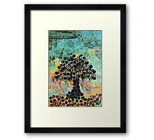 Strange Fruit - Recycled Art Framed Print