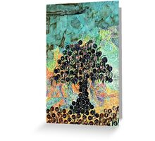 Strange Fruit - Recycled Art Greeting Card