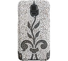 Ancient Plant Mosaic Tile Pattern Samsung Galaxy Case/Skin