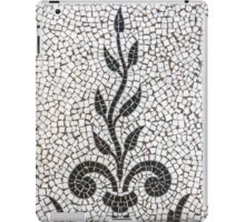 Ancient Plant Mosaic Tile Pattern iPad Case/Skin