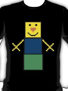 Pixel the snowman noob edition T-Shirt