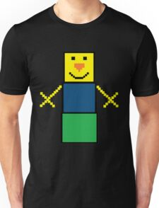Pixel the snowman noob edition Unisex T-Shirt