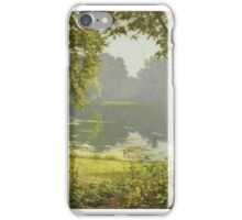 Henri Biva (French, 1848-1928), Tranquility iPhone Case/Skin