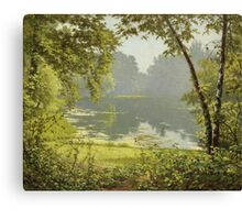 Henri Biva (French, 1848-1928), Tranquility Canvas Print