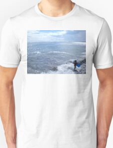 Afternoon In The Surf, Tahiti Unisex T-Shirt