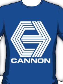 Cannon Films logo (White) T-Shirt