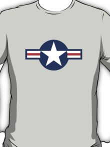 American WWII airforce logo T-Shirt