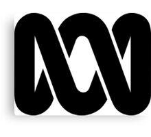 ABC Australia logo - black Canvas Print