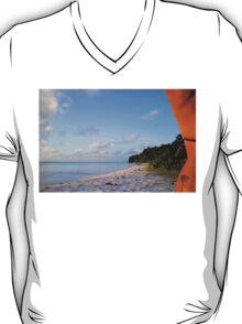 Palm Tattoo, Cocos Islands T-Shirt