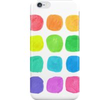 Watercolor Blobs iPhone Case/Skin
