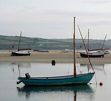 Sailing Boats - Rock Cornwall by Flo Smith
