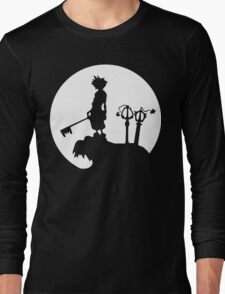 Kingdom Hearts Sora Final Fantasy Long Sleeve T-Shirt
