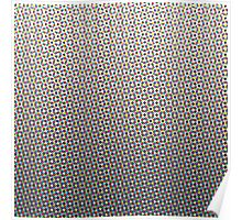 Colour Halftone Poster
