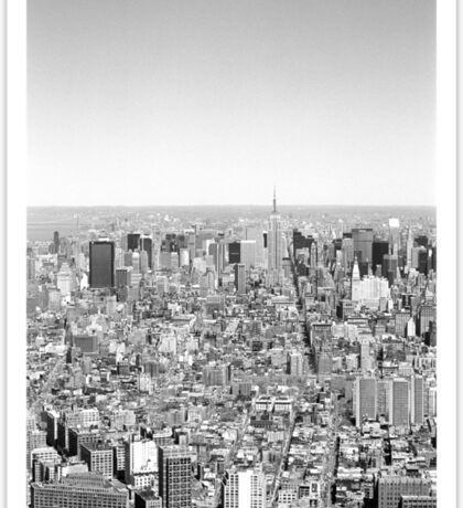 New York Skyline 1 Sticker