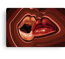 Mocha Kiss Canvas Print