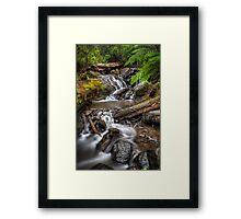 Olinda Falls Framed Print