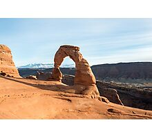 Delicate Arch – Arches National Park, Utah Photographic Print